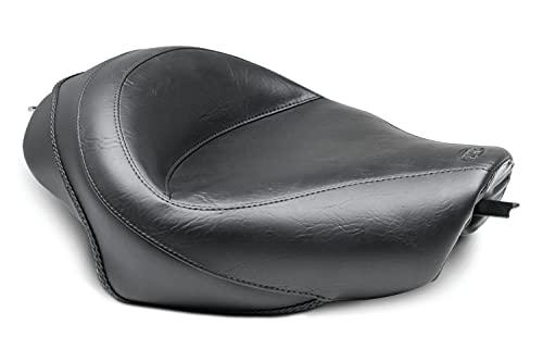 Mustang Seats 76150 Black 04-11 (W/4.5 GAL Tank) Motorcycle Seat