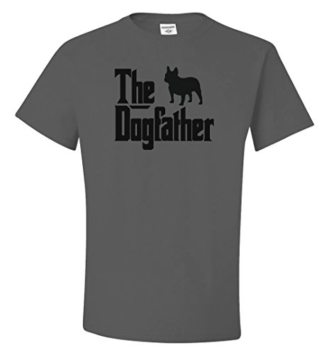 Boundless Tee The Dogfather French Bulldog Charcoal