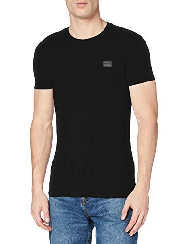 Antony Morato MMKS01417-FA120001 T-Shirt, Nero (Nero 9000), X-Large (Taglia Produttore:XL) Uomo