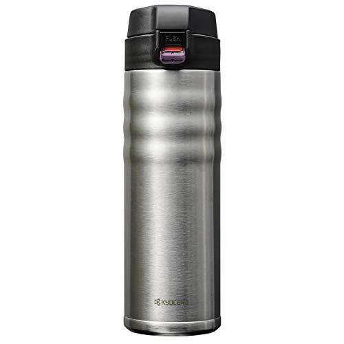 Kyocera Flip Top Thermoflasche, edelstahl, 500 ml Thermos, Acciaio Inox