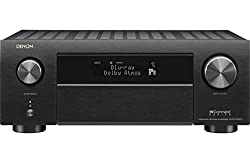 in budget affordable Denon AVR-X4500H Receiver-8 HDMI Input / 3 Output, 9.2 Channel High Power Amplifier (125 W / Channel) | Dolby…