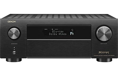 Denon AVR-X4500H Receiver - 8 HDMI In /3 Out, High Power 9.2 Channel Amplifier (125 W/Ch) | Dolby...