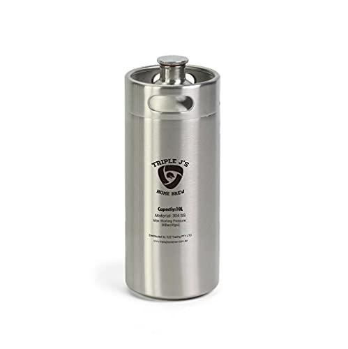 Mini growler Ss Keg 10 l 304 (174 mm x 490 mm) Home Brew