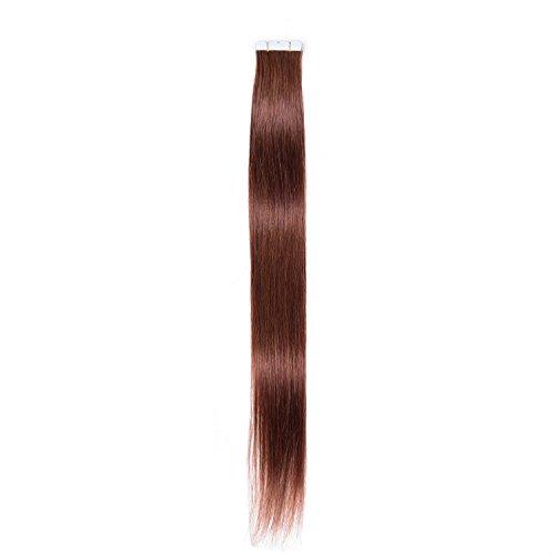 Originea TM Hot vendre brésilien Cheveux ondulés ruban adhésif en cheveux humains Extensions de Trame de peau