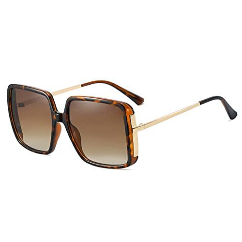 HQPCAHL Gafas De Sol Cuadradas Polarizadas para Hombres, Mujeres, Protección UV, Gafas De Sol Retro Unisex, Hombre para Conducir, Senderismo, Pesca, Deportes,A