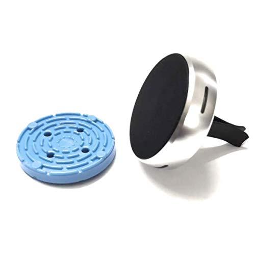 Portamóvil magnético para coche, universal, rotación de 360°, difusor de perfume y purificador de aire, compatible con smartphones de menos de 500 g