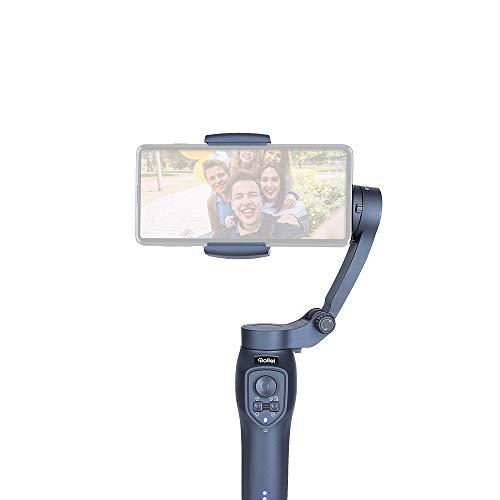 Rollei Stady Butler Mobile 3, robuster ultraleichter kompakter Smartphone Gimbal mit App Steuerung, 22820