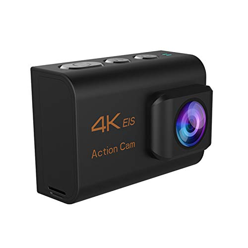 Sportkamera wasserdichte Sportkamera Anti-Shake EIS dreiachsige WLAN intelligente ferngesteuerte Luftkamera 4K Kamera Ultra HD 30fps WiFi 2,0 Zoll 170D Unterwasserkamera Wasserdichter Bildschirm