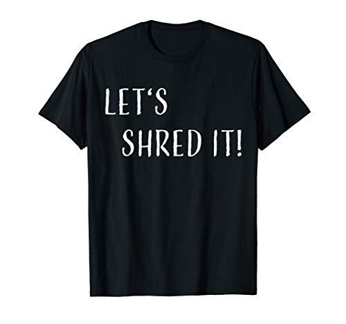 FlamaX Shred it! T-Shirt Wakeboard Skateboard Shirt Geschenk