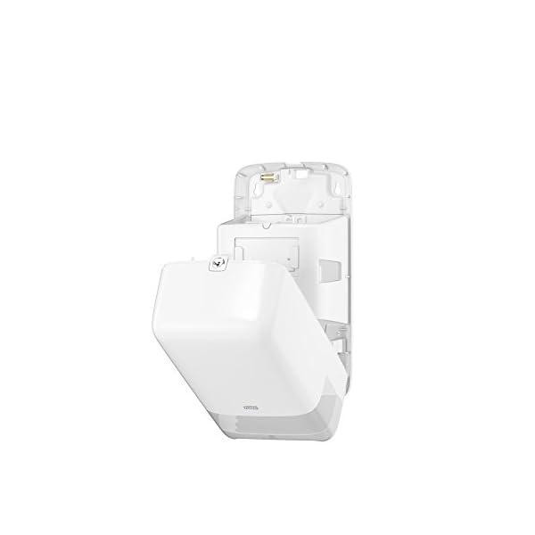 Tork 557500 Dispensador de doble rollo de papel higiénico de tamaño mediano