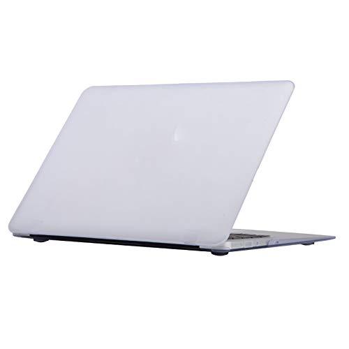 4-in-1 Matte Hard Shell Case + Keyboard Cover + Screen Protector + Dust Plug for MacBook Air 11 13 Pro Retina 12 13 15 TouchBar-Matte White-Air 13 A1466 A1369