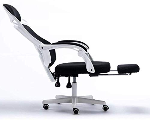 WSDSX Office Chairs Mid Back Mesh Office Chair Ergonomic Swivel Black Mesh Computer Chair Flip Up Arms with Lumbar Support Adjustable Height Task Chair for Back Pain,Comfortable Mid Blac