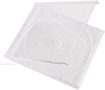 StarTechDeals Standard 10.4mm CD Jewel Single Case Clear Case Pack of 10 Pieces