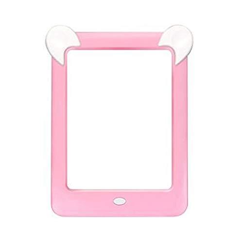 Nrpfell Tableta de Escritura LCD, Tablero de Dibujo MáGico Luminoso LED 3D para Ni?Os, Tablero de Dibujo de Escritura una Mano LCD Rosa