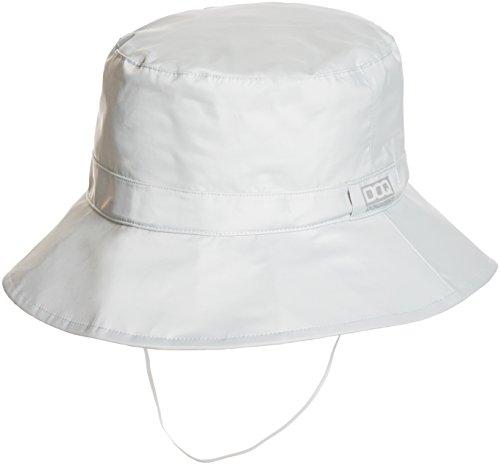 [ドキュメント] 防水 帽子 反射プリント レインハット H-1 メンズ シルバー M