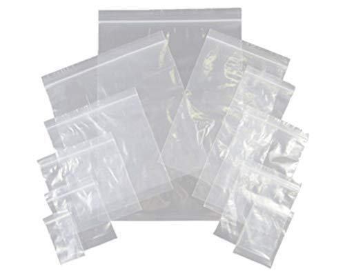 250 Poly Toutes Tailles En polyéthylène clair Sacs en Plastique Tailles Crafts Food