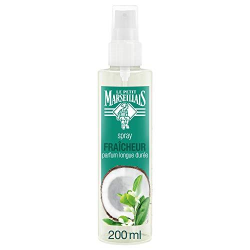 Le Petit Marseillais Spray Hydratant Pour Cheveux 2 en 1, Eau de Coco Fleur d'Oranger, 200ml