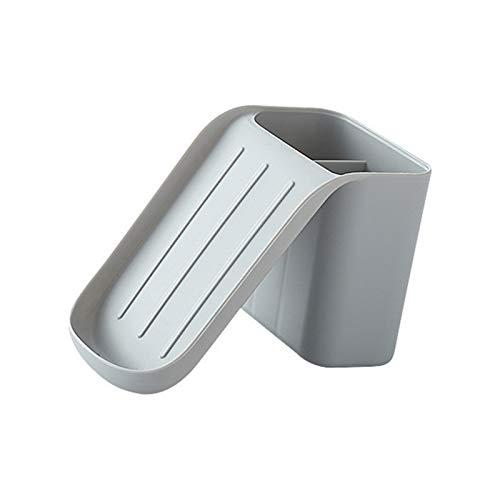 Huaji Caja de jabón con ventosa reutilizable para pared y baño