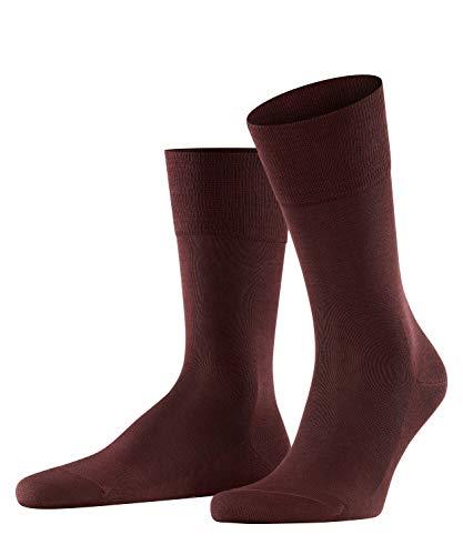 FALKE Herren Socken Tiago, Baumwolle, 1 Paar, Rot (Barolo 8526), 39-40 (UK 5.5-6.5 Ι US 6.5-7.5)