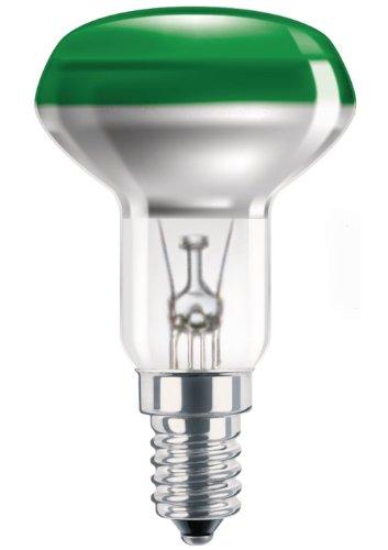 Philips Reflektorlampe NR50 40 Watt E14 grün 40W