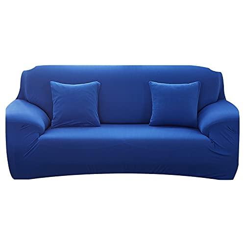 WXQY Funda de sofá elástica para Sala de Estar Funda elástica Antideslizante Funda de sofá Modular Funda de sillón de Esquina en Forma de L Funda de sofá A11 4 plazas