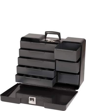 Make-up Kosmetikkoffer groß Kunststoff-Koffer leer