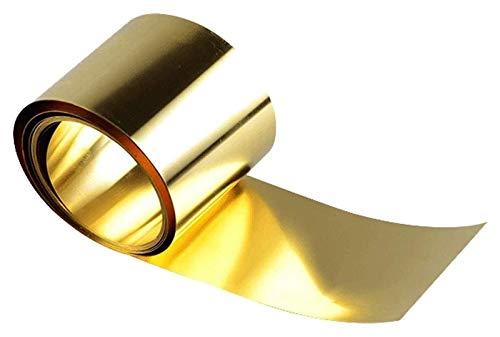 金属加工のための真鍮の銅シートのH62薄板金属板の金属加工、厚さ:0.2 mm長さ:5m、幅:20mm 純銅板