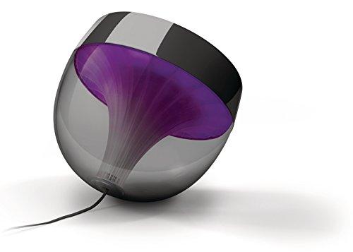 Philips Living Colors Iris, Energiesparende LED-Technologie mit 10 Watt,16 Millionen Farben, mit Fernbedienung, schwarz 7099930PH - 2