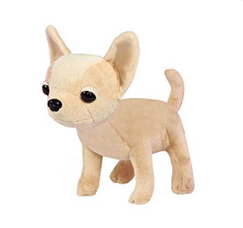 Mini Chihuahua Lazy Pug Dog Plush Toy 10Cm, Lindo Cachorro Mascota Animales...