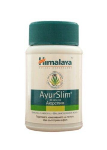 Herbal AyurSlim Natürliche Fett Gewichtsverlust Beihilfen Körper Schlank Cholesterin Fettleibigkeit Appetitzügler steuern Fettverbrennung Kapseln, Himalaya