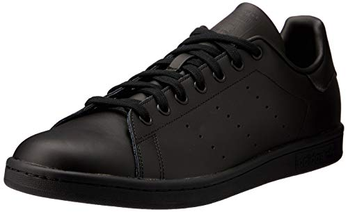 adidas Originals Stan Smith Zapatillas de Deporte Unisex adulto, Negro (Black/Black/Black), 40 2/3 EU (7 UK)