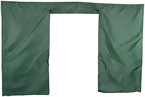Royal Gardineer Zubehör zu Pabellón de Carpa del Festival: Parte Lateral de Pared para cenador, Puerta con Cremallera, 3 x 1,9 m, Verde (Pabellón Plegable Impermeable)