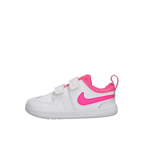 Nike Pico 5 (TDV), Zapatillas, Multicolor (White/Pink Blast 102), 22 EU