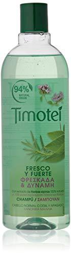 Timotei Frisches und starkes Kräuter-Shampoo, 400 ml