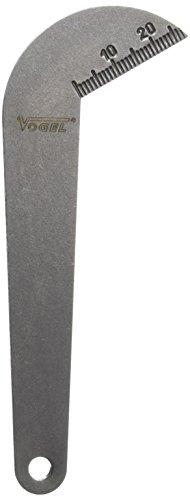 Vogel 472011 - Plantilla Afilado de Brocas, Ángulo 118º, para Brocas hasta 60 mm Diámetro