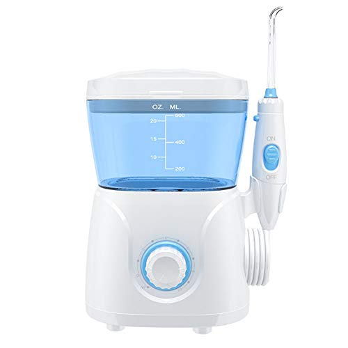 SXFYQ Elektrische waterglasslak, 10 waterdruk, instelbaar, sterke waterstroom met massagefunctie, waterdichte monddouche voor het huishouden