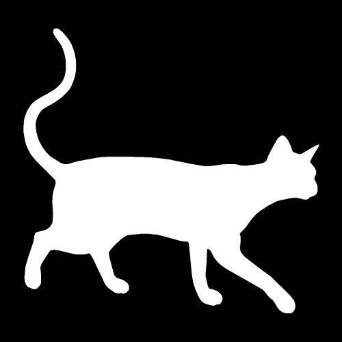 Etiquetas engomadas del Coche del Gato de la Historieta de la Personalidad Linda Gato Animal Animal Peeking Gato Pegatina (Color : 2)