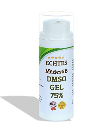 Leivys DMSO Gel - Salbe + Mädesüß Auszug mit Dimethysulfoxid 99,9%, bequeme Anwendung, effektive Wirkung (50ml)