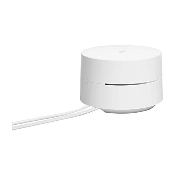 Google wifi system, 1-pack - router replacement for whole home coverage - nls-1304-25 (renewed) 4 this certified refurbished product is tested and certified to look and work like new. The refurbishing process includes functionality testing, basic cleaning, inspection, and repackaging. The product ships with all relevant accessories, a minimum 90-day warranty, and may arrive in a generic box. Only select sellers who maintain a high performance bar may offer certified refurbished products on amazon. Com