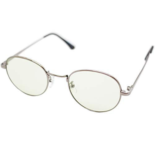 (エイトトウキョウ)eight tokyo 老眼鏡 ブルーライトカット おしゃれ メンズ レディース 兼用 かわいい 2.0 UVカット シニアグラス リーディンググラス[ 鯖江メーカー企画 ]シルバー/ライトグリーン RD6305-SV+2.0