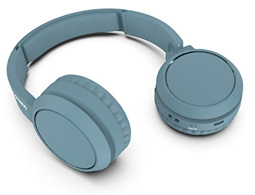 Philips Auriculares inalámbricos TAH4205BL/00 Color Azul, Bluetooth