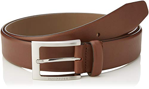 BOSS Barnabie Ceinture, Marron (Medium Brown 217), 120 (Taille Fabricant: 105) Homme