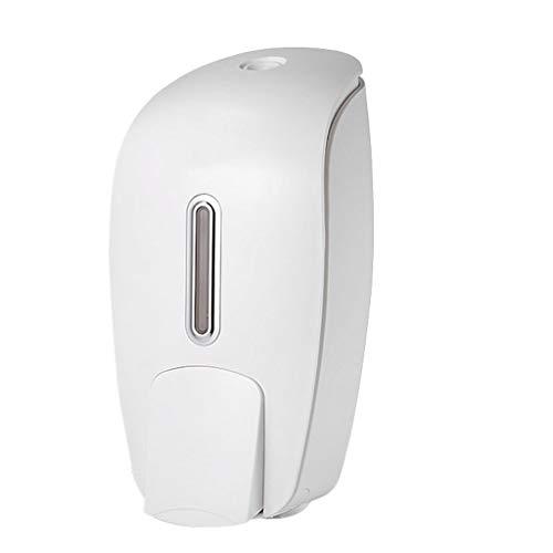 liushop Dispensadores de Jabón Caja de jabón Manual de Hotel sin Perforaciones montado en la Pared Gran Capacidad Hogar Baño Cocina Desinfectante de Manos Dispensadores de Loción