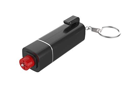 KDWOA Auto Notfallhammer mit Gurtschneider, 3 In 1 Sicherheitshammer Rettungswerkzeug, Multifunktionale Fensterhammer mit Emergency Whistle, Leicht und Tragbar, Schnell Verwendet für Auto, Bus, LKW