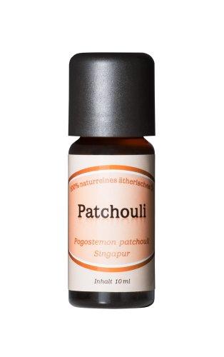 Patchouli - 100% naturreines, ätherisches Öl aus Singapur, 10 ml
