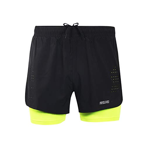 BWBIKE Breathable Marathon Fitness Running Shorts Quick-drying Joggers Gym Trainning Shorts