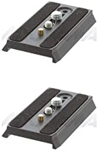 Manfrotto 2 Pack 501PL Quick Release Mounting Plate for The 501 and 503 Pro Video Heads. (#3433PL)