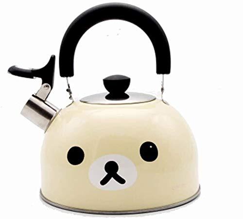 Gaz bouilloire Whistling bouilloire Stovetop bouilloires bouilloire en acier inoxydable Cuisinière bouilloires for gaz Hob Convient for tous Hob UOMUN (Color : B)