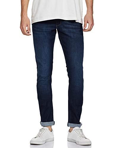 Wrangler Men's Skinny Fit Jeans (W38709W22SMU_Jsw-Indigo_36W x 33L)
