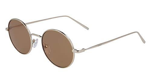 DKNY DK105S Gafas de sol, Gold Amber, 47 MM, 19 MM, 135 MM para Mujer